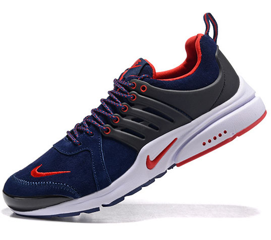 Mens & Womens (unisex) Nike Air Presto Anti-fur Dark Blue Red 36-46 Low Price